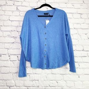 NWT Out From Under Jojo Bright Blue Thermal | XS